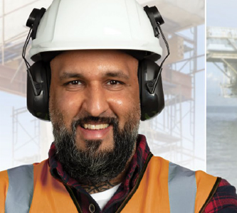 VeriShield 100 Series Ear Muffs - Hard Hat Style