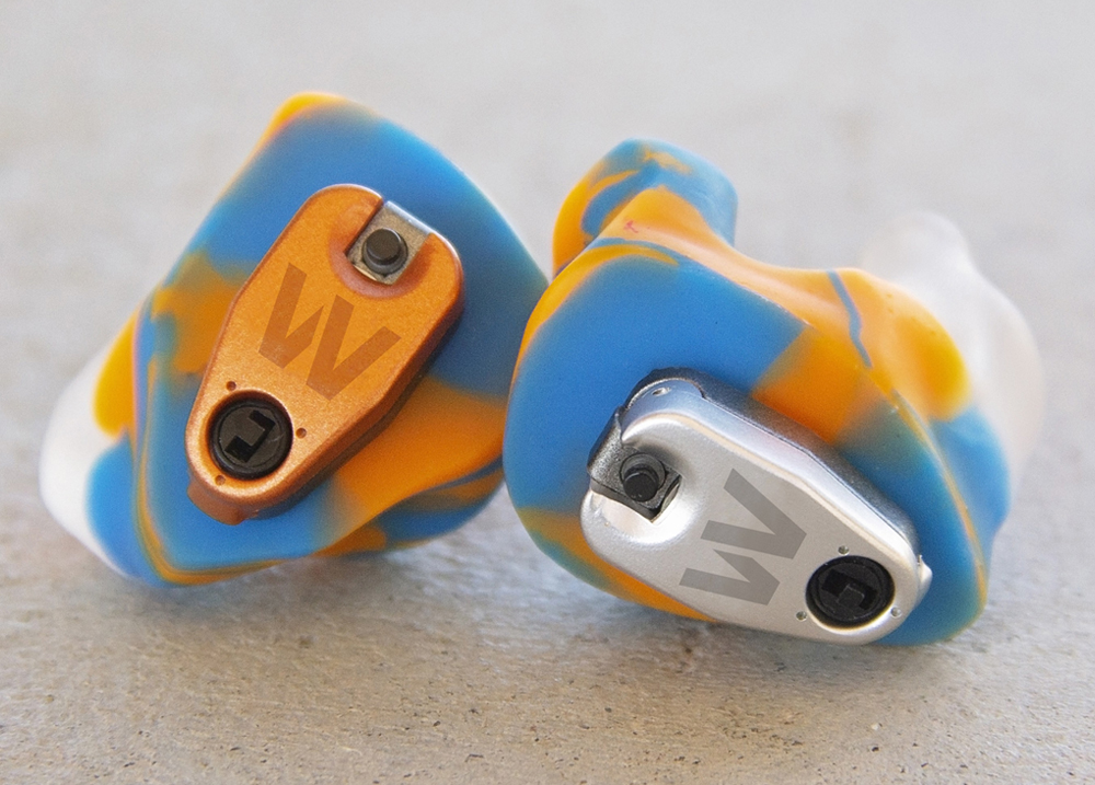 Defender DX5 Ear Plugs for Shooters - Close Up