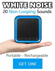 White Noise - Portable and Rechargeable