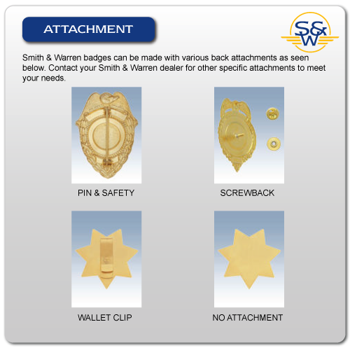 Smith & Warren Badge Attachment Options