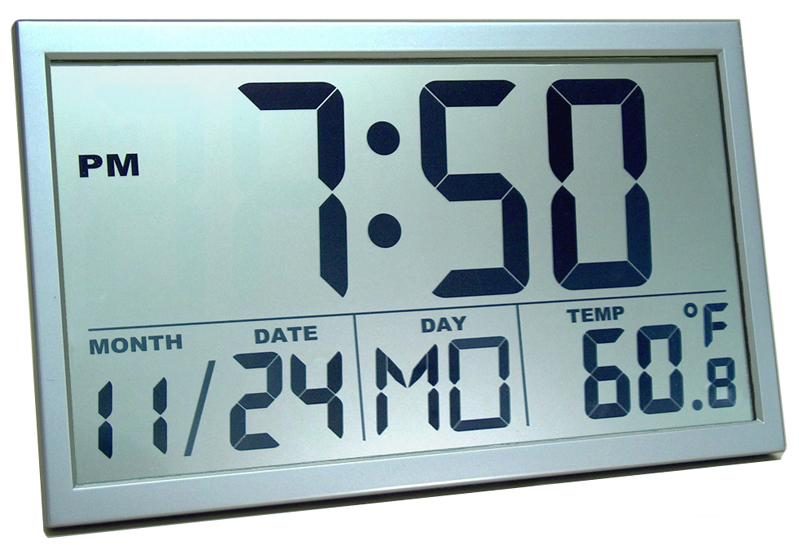Help Me Find A Digital Wall Clock That Illuminates In The