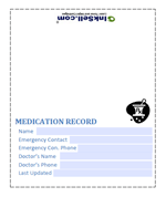 Medication Record