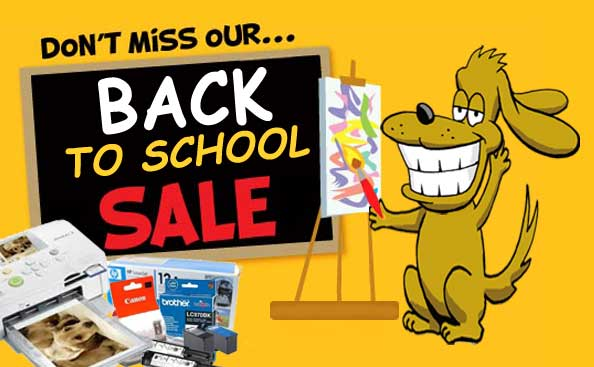 Don't Miss Our BACK TO SCHOOL SALE!