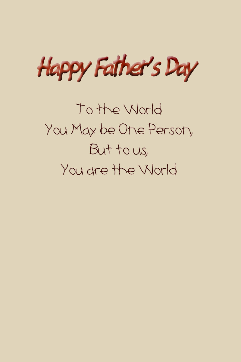 fathers day hinged photo frame card