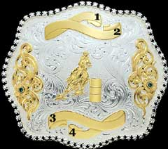 View #2: Trophy Buckle 1924BE