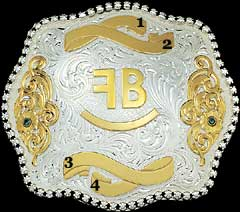 Trophy Buckle with Brand