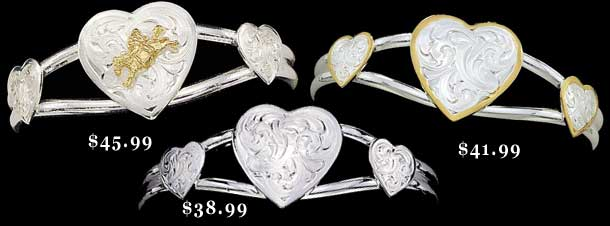 Customizable Heart Bracelet