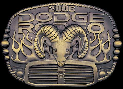 2006 Dodge Rodeo Buckles 3 Styles