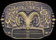 Dodge Rodeo Buckle 1