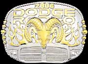 Dodge Rodeo Buckle 2