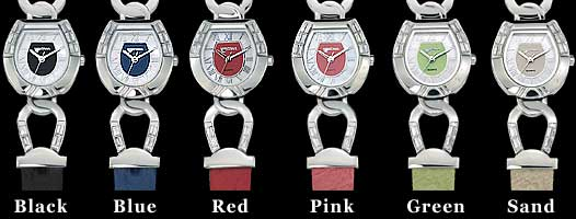 Colored Horseshoe Watches, View 1