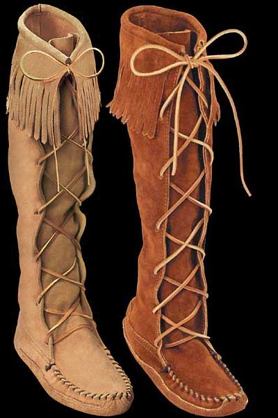 moccasins, boots, moccasin boots