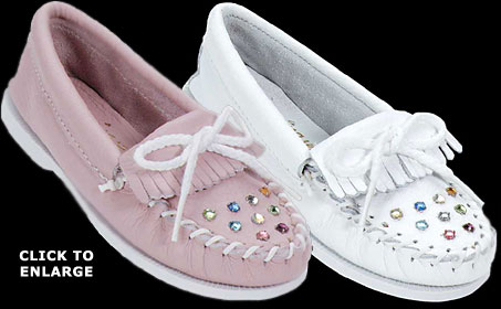 Little Girl's Rhinestone Shoe
