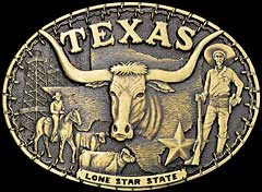 Lone Star State Buckle