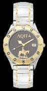 American Quarter Horse Association wrist watch by Montana Silversmiths - metal