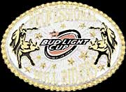 Bud Light Cup Professional Bull Rider Belt Buckle 2