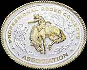 Professional Rodeo Cowboys Association® (PRCA) belt buckle by Montana Silversmiths