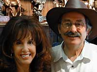 Stephanie & Marv Baskin, Proprietors of Gold Mountain Mining Company, Arizona