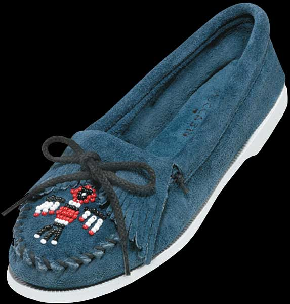Suede Thunderbird Boat Sole Moccasin by Minnetonka 75f8ad3814