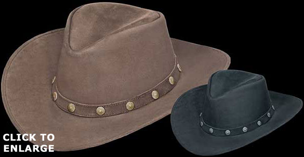 Outback Hat with Conchos