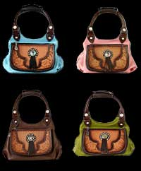 Saddle Bag Purses