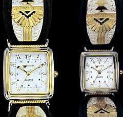 Southwestern Watch - Mans and Ladies - Square Face - Close
