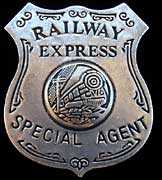 Special Agent Railroad Badge - Replica