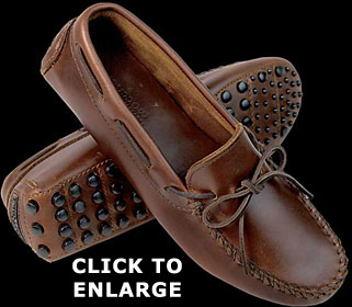 Straight Plug Driving Moccasin for Women by Minnetonka