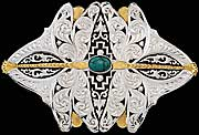 Dragonfly Belt Buckle by Montana Silversmiths