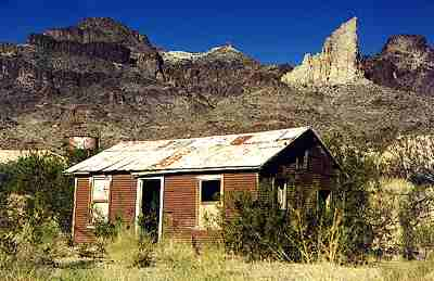 Old west ghost town Oatman, Arizona 3