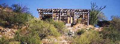 Old west ghost town Octave, Arizona 1