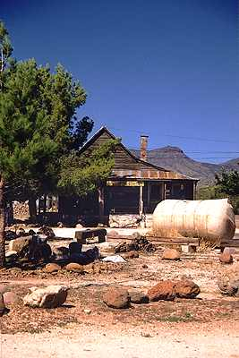 Old west mining town Stanton, Arizona 2