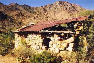 Old west ghost town Weaver, Arizona 1
