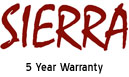 Click For 5 Year Warranty