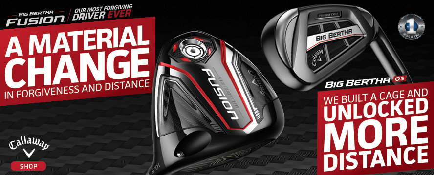 New 2016 Callaway Golf Equipment