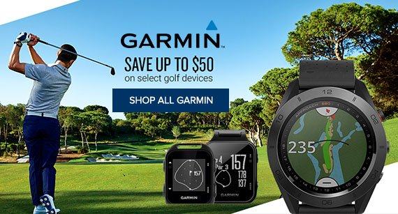 Garmin Golf GPS Promotion 2018