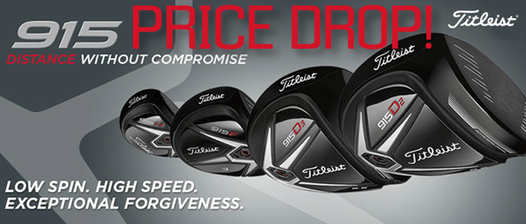 Titleist 915 Price Drop sale