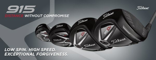 New 2015 Titleist Golf Equipment