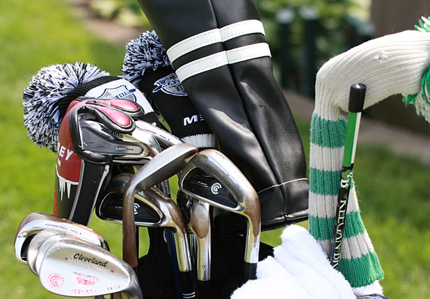 Keegan Bradley's Winning Bag