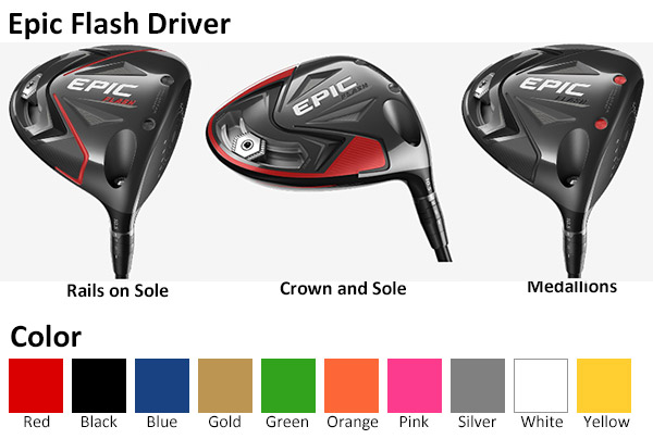 Callaway Epic Flash Driver Color Options