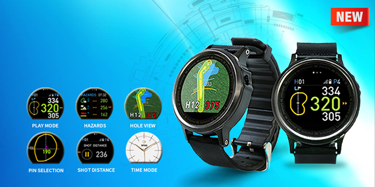 GolfBuddy WTX Golf GPS Watch - 2017