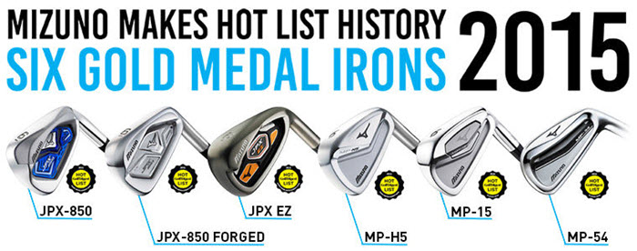 New 2015 Mizuno Clubs