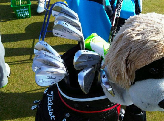 Rory McIIroy's Winner's Bag