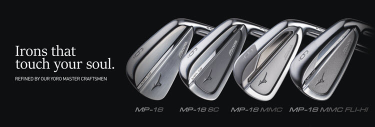 New 2018 Mizuno Irons