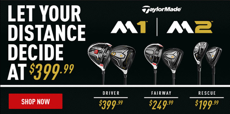 New 2016 TaylorMade Golf Equipment