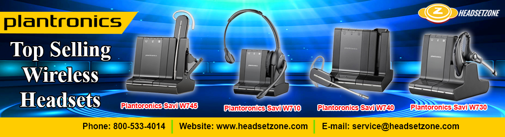 Plantronics Wireless Headsets And Office Headphones Headsetzone