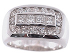 Our entire collection of mens diamond rings
