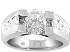 Bezel Engagement Rings Settings