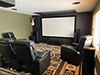 HT Design Clark Straight Row of 2 & 2-Arm Recliners