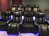 HT Design Hamilton Rows of 4 LED Cupholders & Baselighting